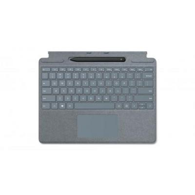 Microsoft Surface Pro X Signature Keyboard Ice Blue with Slim Pen - Full mechanical keyset - Surface Pro X Slim Pen included