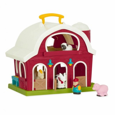 Kaplan Early Learning Toddler's First Big Red Barn and Farm Animals