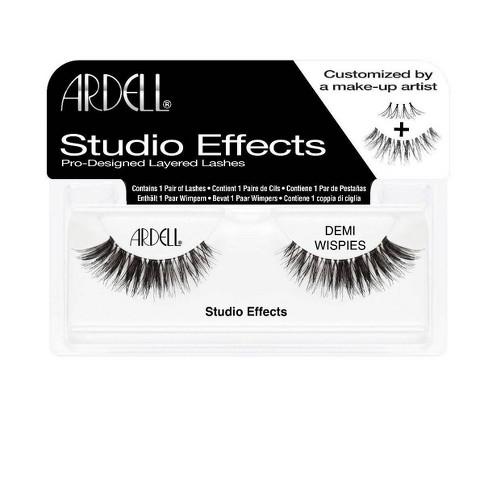 Ardell Eyelash Demi Wispies Studio Effects Black - 1pr - image 1 of 3