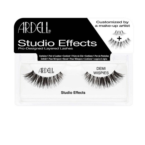 Ardell Eyelash Demi Wispies Studio Effects Black - 1pr