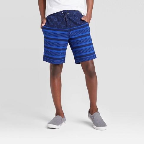 Boys' Americana Knit Shorts - Cat & Jack™ Navy - image 1 of 3