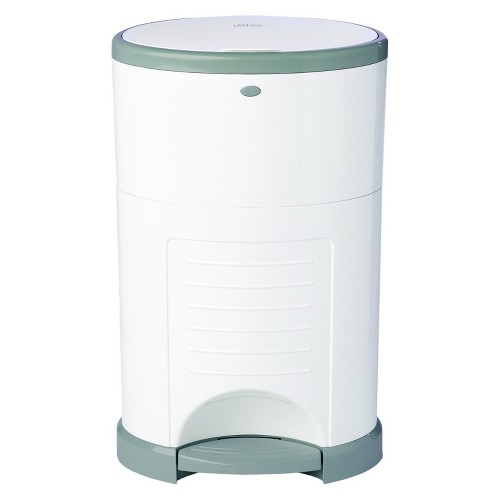 Dekor Plus Hands Free Diaper Pail - White