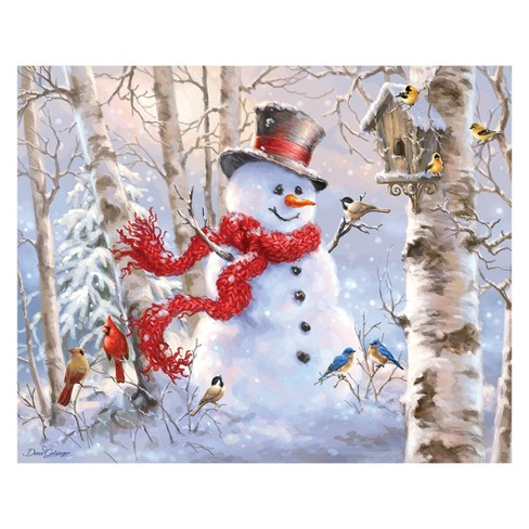 Springbok Winter Friends 1000pc Jigsaw Puzzle - image 1 of 1