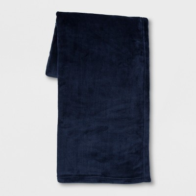 Plush Throw Blanket Blue - Room Essentials™