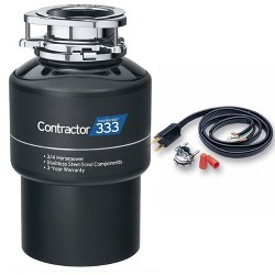 InSinkErator Contractor 333 Contractor Series 3/4 HP Garbage Disposal