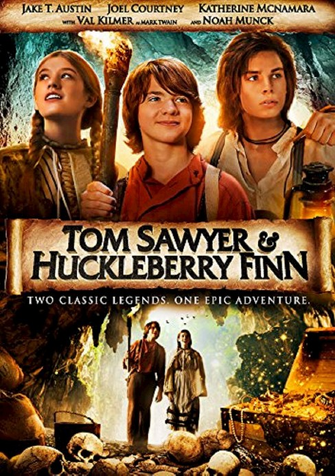 Tom Sawyer & Huckleberry Finn (dvd_video) - image 1 of 1
