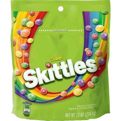 Skittles Sours Bite Size Candies - 7.2oz