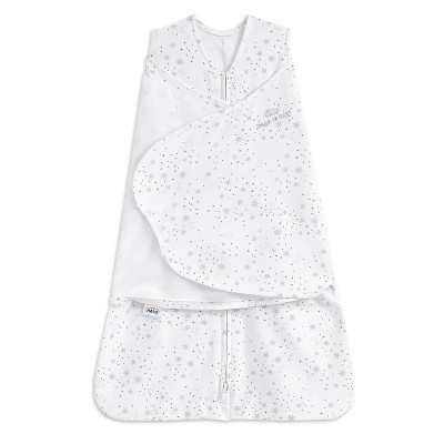 HALO Innovations Swaddle 100% Cotton Wearable Blanket - Midday Moons - S