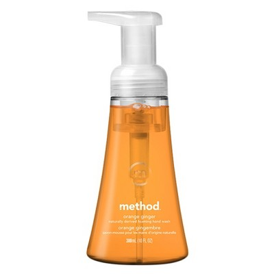 Method Foaming Hand Soap Orange Ginger - 10 fl oz