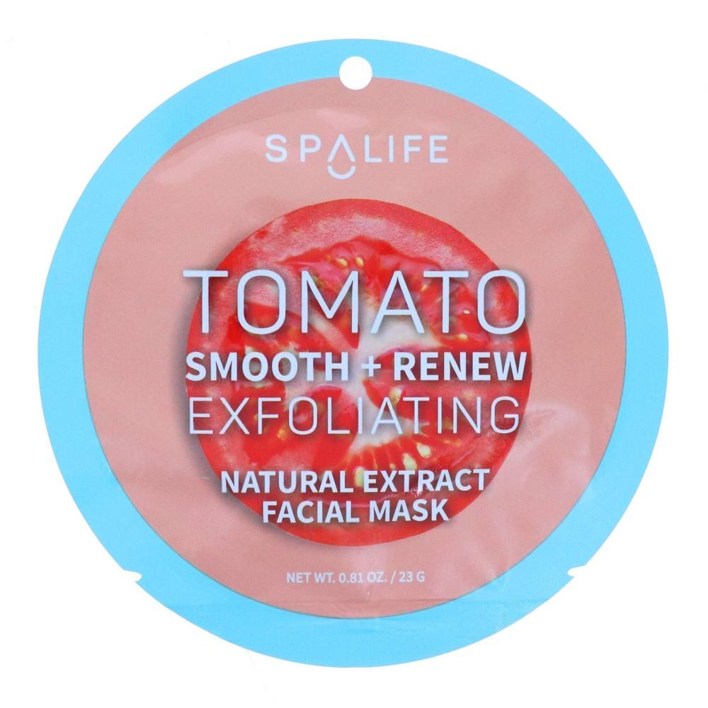 Image of SpaLife Tomato Exfoliating Facial Mask - 0.81oz