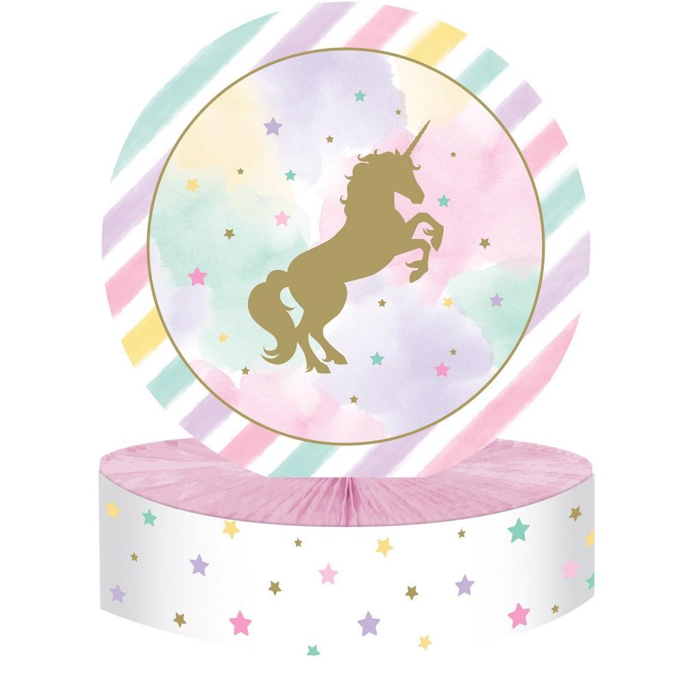 Creative Converting Sparkle Unicorn Centerpiece