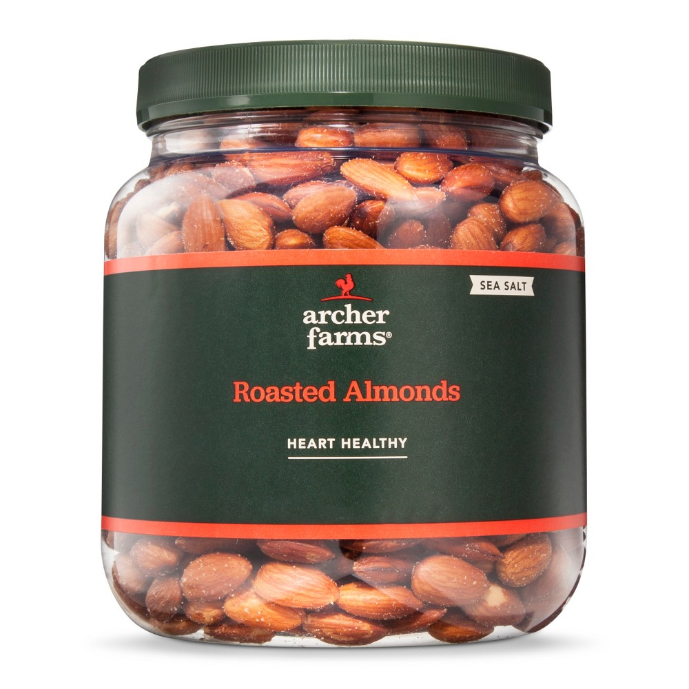 Sea Salt Roasted Almonds 32oz - Archer Farms