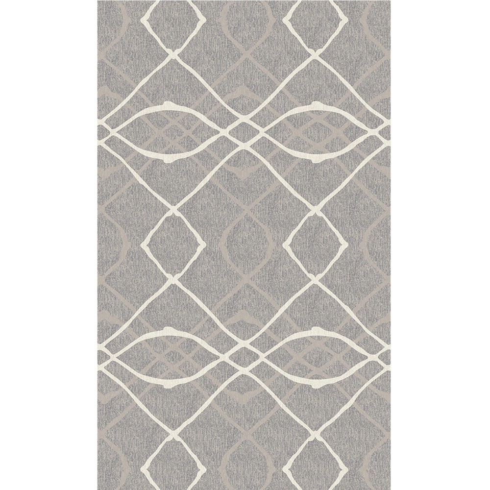 Best Review Gray Ikat Design Woven Accent Rug 3X5 Ruggable