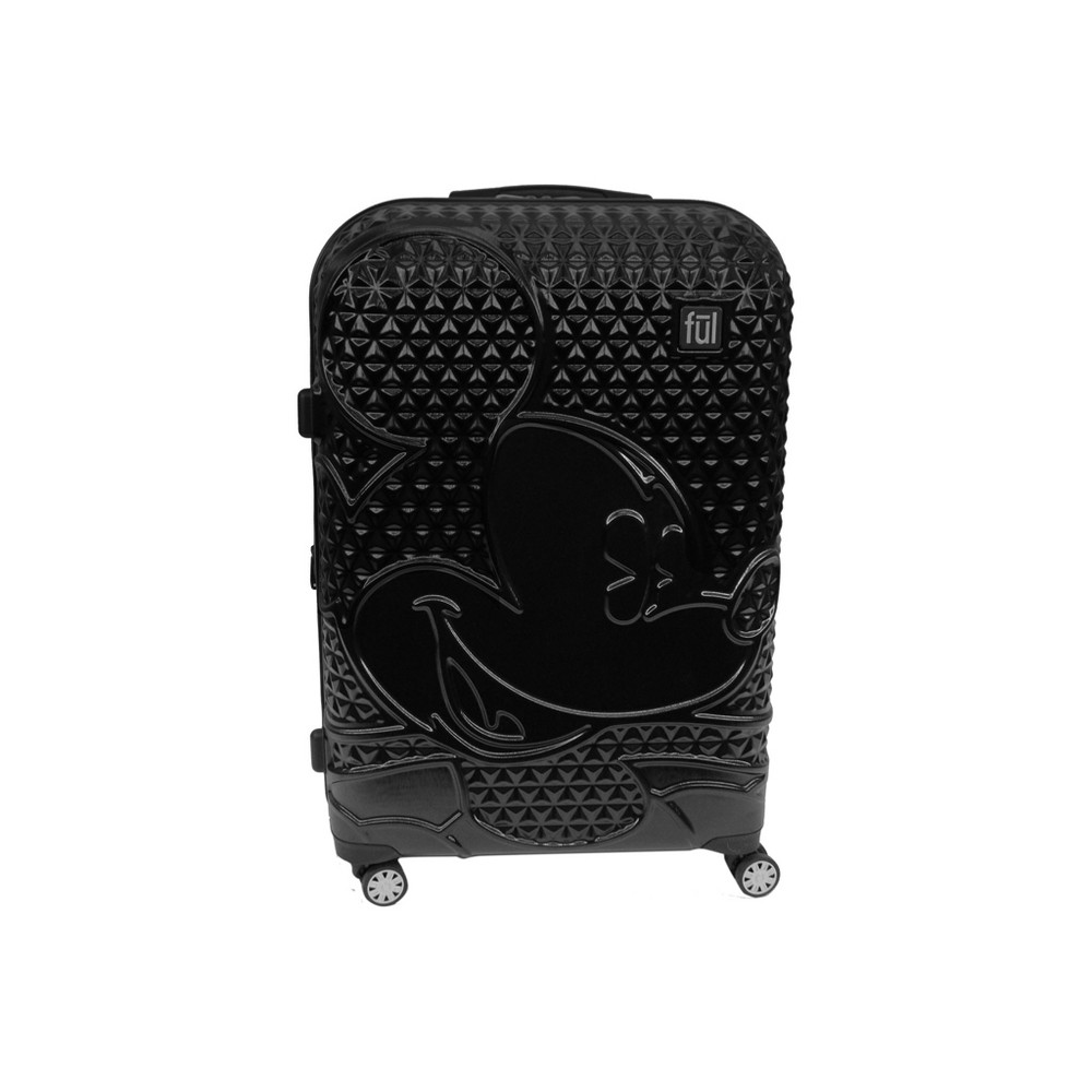 "Image of ""FUL 21"""" Disney Mickey Mouse Hardside Suitcase - Black"""