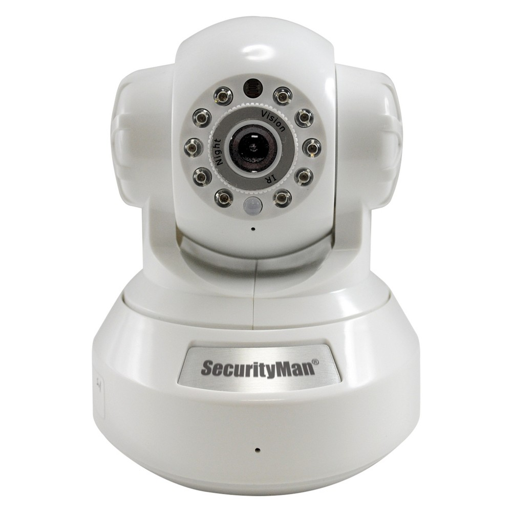 Securityman IP Cam with SD Recorder - White