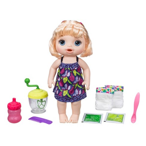 Baby Alive Sweet Spoonfuls Baby Doll Girl - Blonde - image 1 of 10