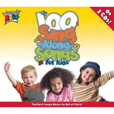 Cedarmont Kids - 100 Singalong Songs for Kids (CD)