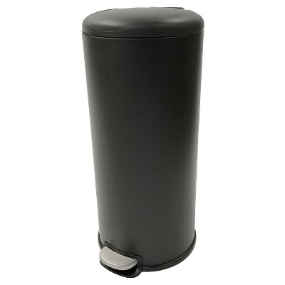 30 ltr Step-On Trash Can Black - Room Essentials™