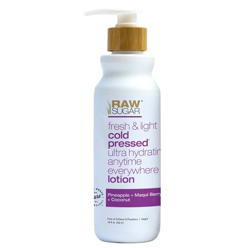 Raw Sugar Pineapple Maqui Berry and Coconut Body Lotion - 18 fl oz - image 1 of 3