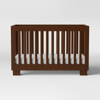 Babyletto Modo 3-in-1 Convertible Crib with Toddler Rail - Espresso