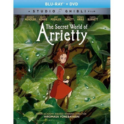 The Secret World Of Arrietty Blu Ray 2017 Target