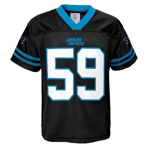 7853fe0a1 Luke Kuechly Carolina Panthers Boys' Player Jersey S : Target