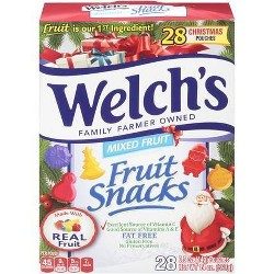 Welch's Mixed Fruit Snacks - 28ct