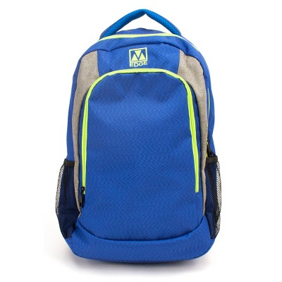 M-Edge 21  Relay Backpack with Built-in 6000 mAh Portable Charger - Blue