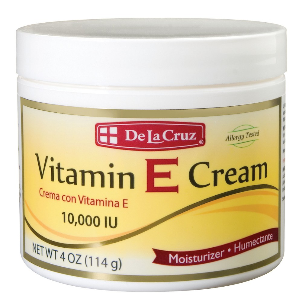 Image of De La Cruz Moisturizer Vitamin E Cream - 4 oz