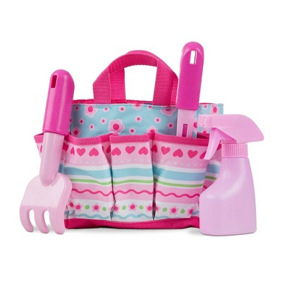 Melissa & Doug Sunny Patch Pretty Petals Gardening Tote Set With Tools