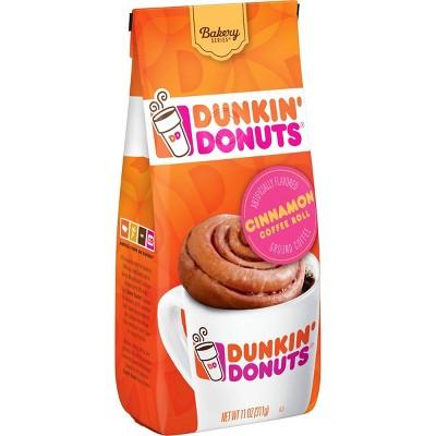 Dunkin Donuts Cinnamon Medium Roast Ground Coffee - 11oz
