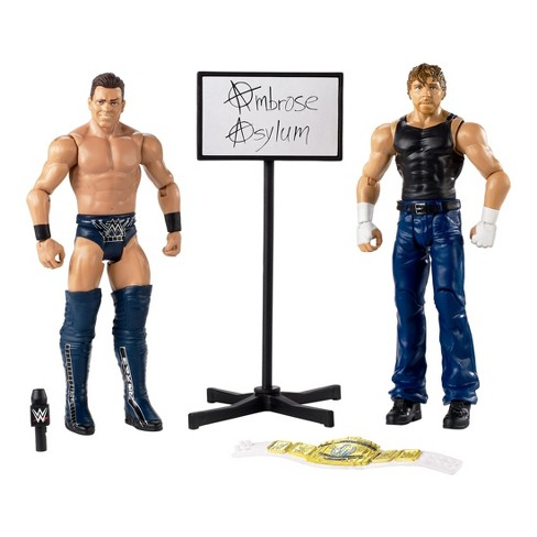 WWE Hall of Champions Dean Ambrose Vs The Miz Figure 2pk - image 1 of 4