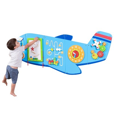 Learning Advantage Airplane Activity Wall Panels