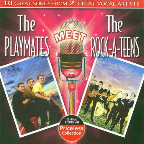 Playmates - Playmates meet the rock a teens (CD) - image 1 of 1