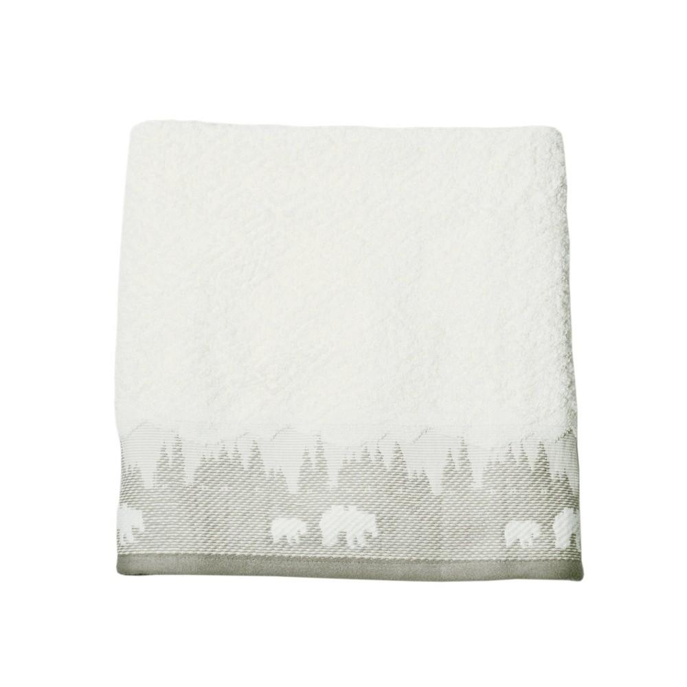 Image of Saranac Bath Towel Natural - Destinations