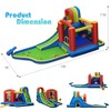 Costway Inflatable Kid Bounce House Slide Climbing Splash Pool Jumping Castle - image 3 of 4