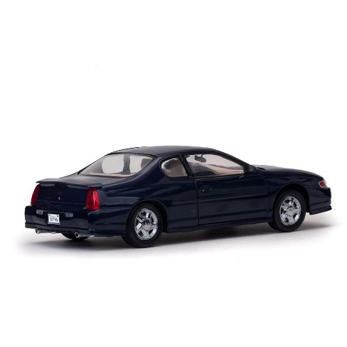 Ss Monte Carlo >> 2000 Chevrolet Monte Carlo Ss Navy Blue 1 18 Diecast Model Car By
