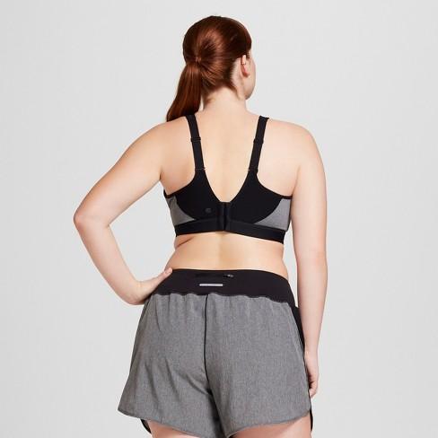 c64c665ba73c3 Women s Plus-Sized MAX Support Power Shape™ Underwire Sports Bra - C9  Champion® Dark Heather Gray 44D   Target