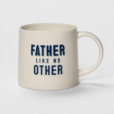 15oz Porcelain Father Like No Other Mug Cream - Threshold™