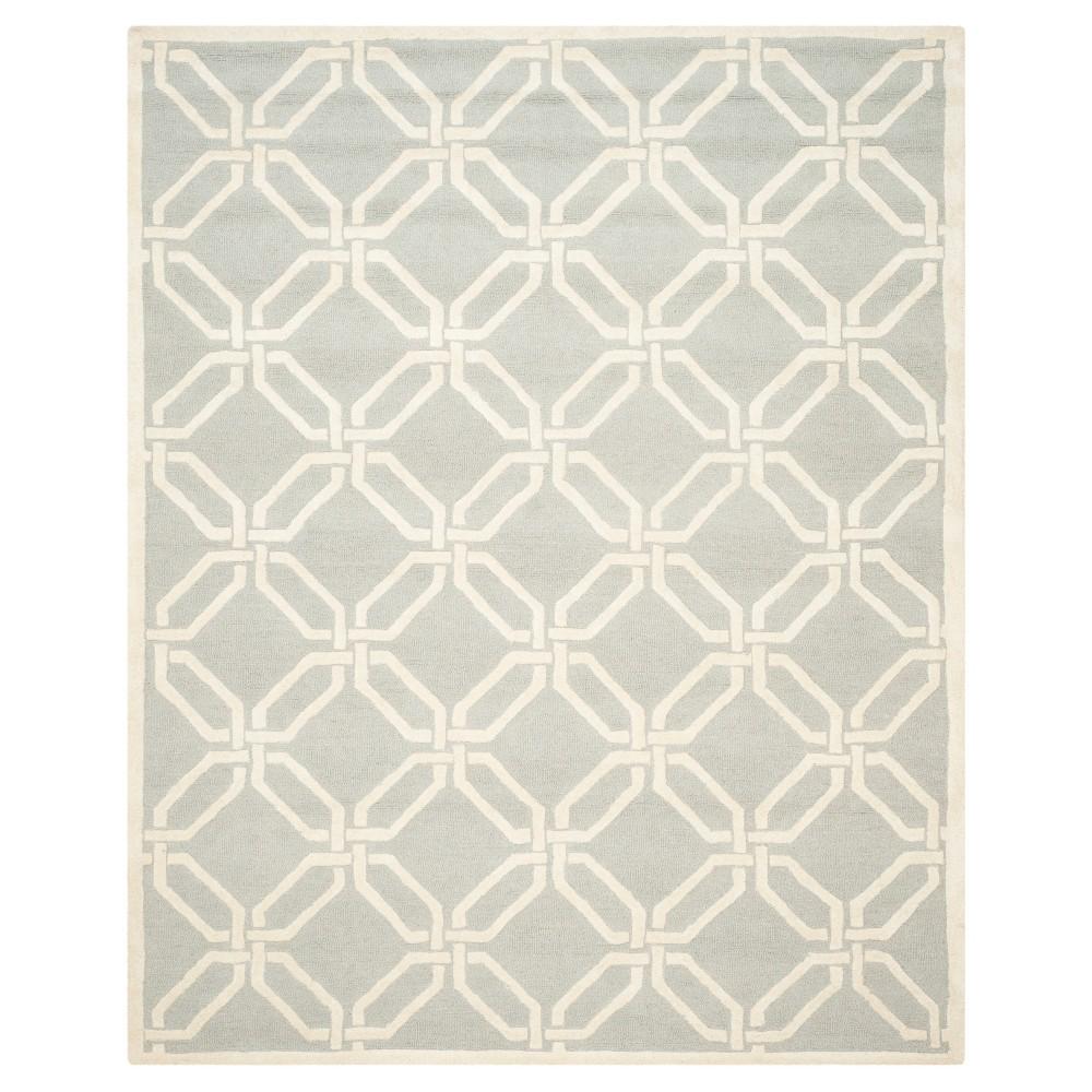 Bellina Textured Area Rug - Light Gray/Ivory (8' X 10') - Safavieh
