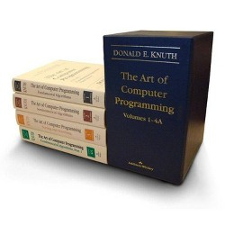 The Art of Computer Programming, Volumes 1-4a Boxed Set - by  Donald E Knuth (Mixed media product)