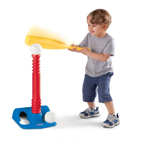 Little Tikes Toy Sports T-Ball Set - Red - image 1 of 4