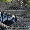 Carysfort 5pc Aluminum Dining Set - Black Sand - Christopher Knight Home - image 3 of 4