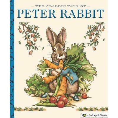 The Classic Tale of Peter Rabbit (Little Apple Books) - by Beatrix Potter (Hardcover)