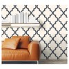 Devine Color Cable Stitch Peel & Stick Wallpaper Navy/Cream - image 4 of 4