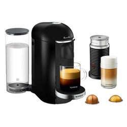 Nespresso VertuoPlus Black Deluxe Bundle by Breville