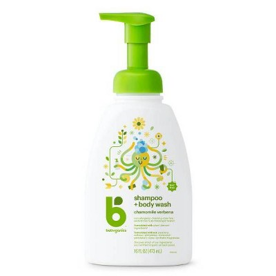 Babyganics Baby Shampoo + Body Wash Pump Bottle - 16 fl oz