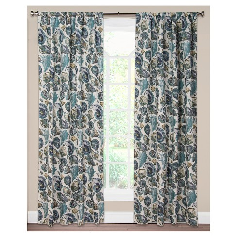 Siscovers Sea Medley Curtain Panel - image 1 of 1