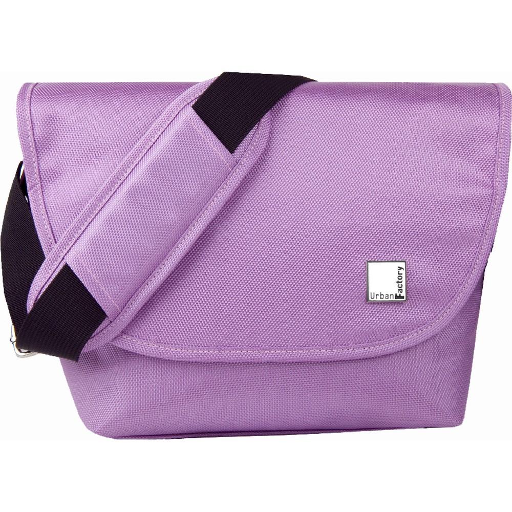 Urban Factory Bi-Colors Collection Wallet Bag for Camera Reflex/Slr and Lens - Violet (VV2071), Purple/Green