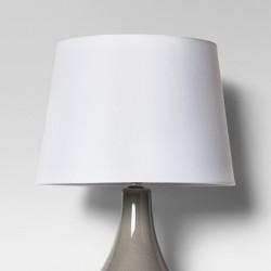 Linen Drum Lamp Shade White - Threshold™